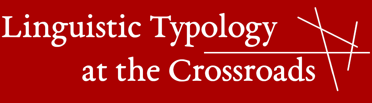 Linguistic Typology at the Crossroads